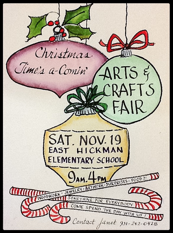 christmas times a comin arts and crafts fair