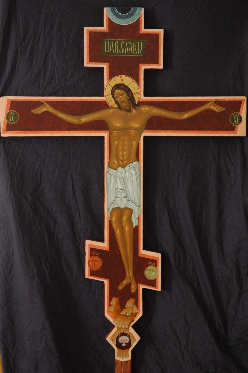 Processional Crucifix, 80cm, 2008