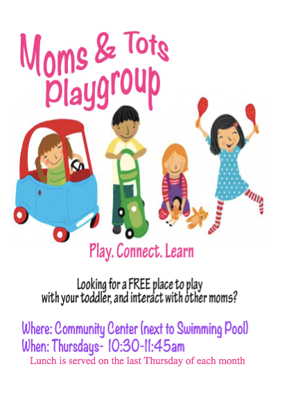 Mom & Tots Playgroup Ruidoso Community Center