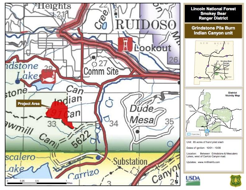 Indian Canyon pile burn NR map.jpg