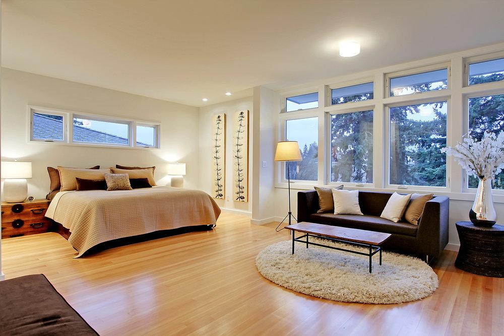 Master Bedroom Wood Floors