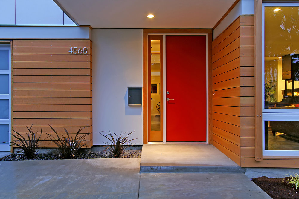 Cedar Residence Entry