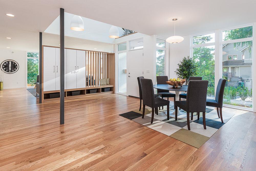 Open Floor Plan Light Filled Dining Room