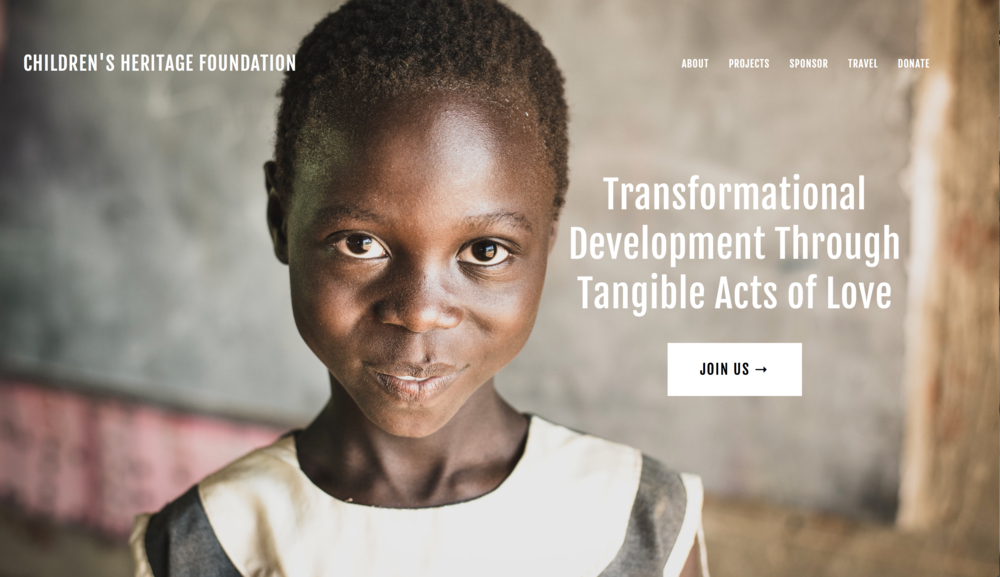Children's Heritage Foundation — Non-Profit (site currently still under construction)