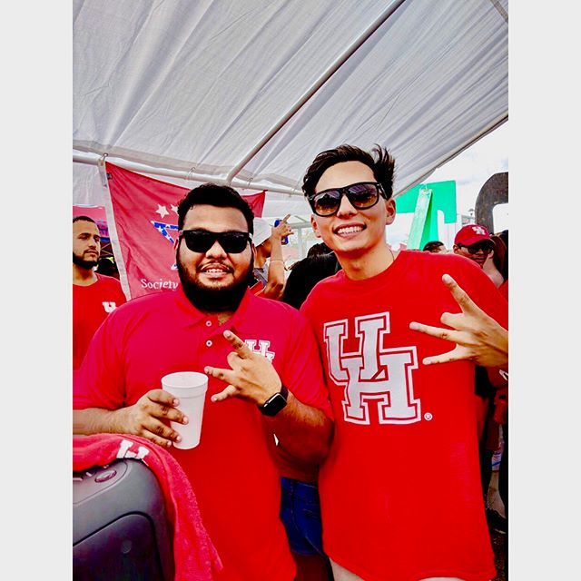 Hope y'all had a great time this last Saturday at @sigmabetarho tailgate💯💯 Look out for another big tailgate on September 22nd 👀🔥#universityofhouston #gocoogs #sigmabetarho #uhgreeks #uh19 #uh20 #uh21
