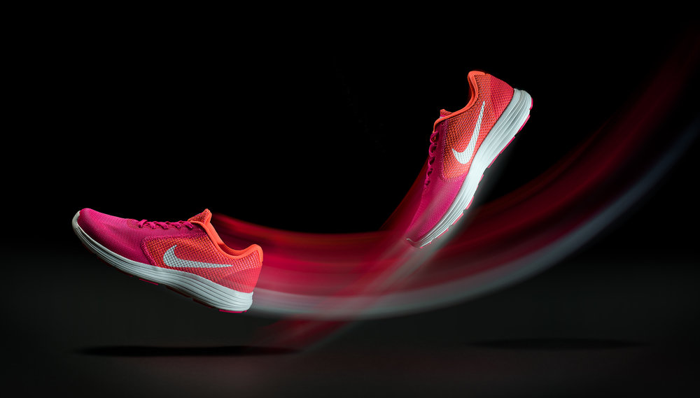 Pink Nike Running Shoes JCarncross Photography