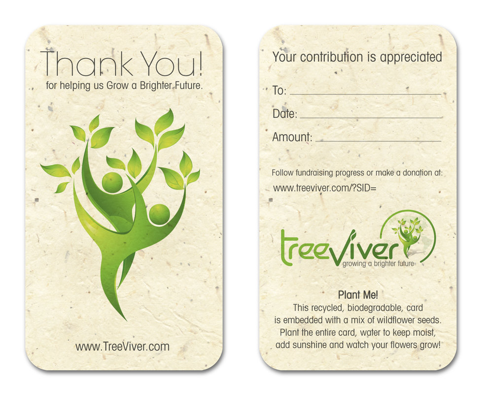 TreeViver - Contribution Receipt