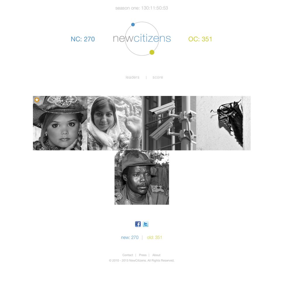 New Citizens - Website