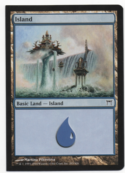 2 Square corner island
