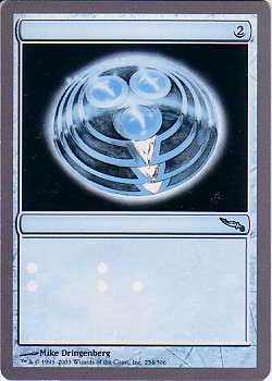 Any card from this Mirrodin sheet missing the text black layer.