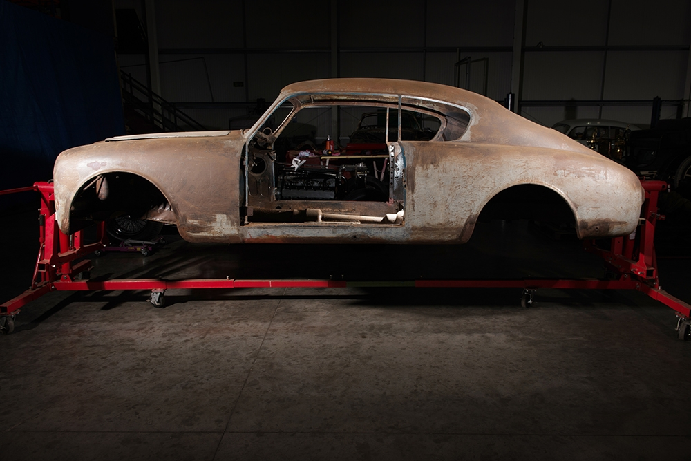 The donor car for Outlaw 2 was a Lancia Aurelia B20GT in desparate need of saving