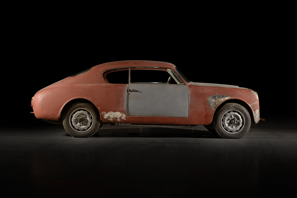 A neglected and battered Lancia Aurelia B20GT was the perfect donor car