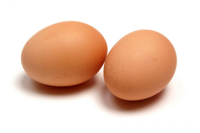 2 large eggs