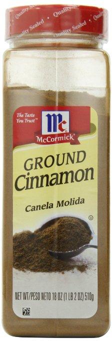 2 tbsp ground cinnamon