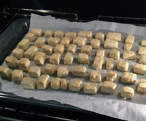 Oven Cooked Tofu Bites