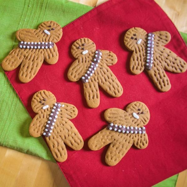 SugarNerd's Wookie Gingerbread Cookies!