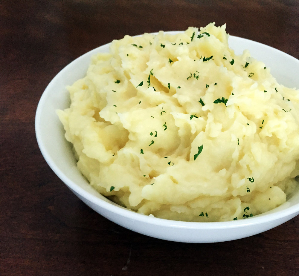 yukon gold mashed potatoes
