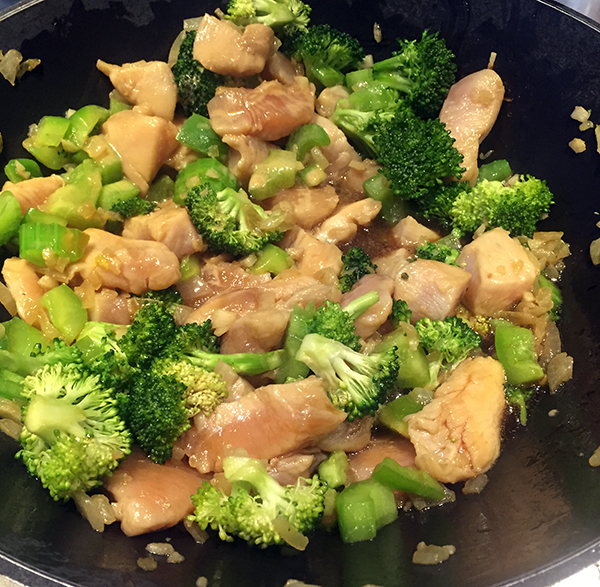 Vegetable Chicken Stir Fry