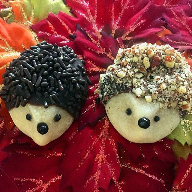 Adorable Fall Hedgehogs just for You! . . . . . #liveauthentic #foodbeast #eeeeeats #eatfamous #feedfeed #dailyfoodfeed #onthetable #lifeandthyme #f52grams #tastingtable #huffposttaste #heresmyfood #buzzfeast #eattheworld #eater #rslove #foodandwine #foodblogfeed #beautifulcuisines #tastemade #cookie #cookies #yummy #chocolate #dessert #hedgehog #cutefood #foodporn #fall #letsbakestuff