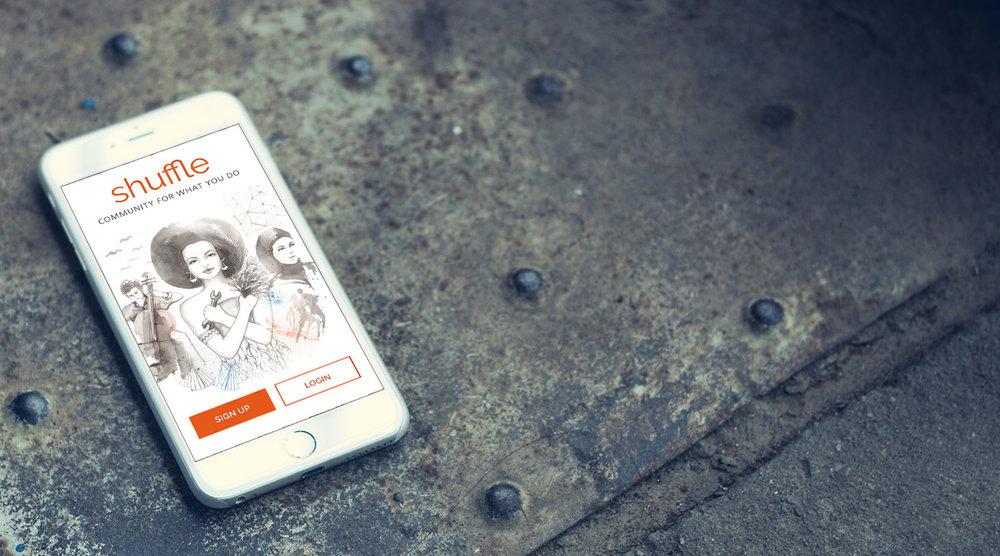 Shuffle        iOS app strategy & design