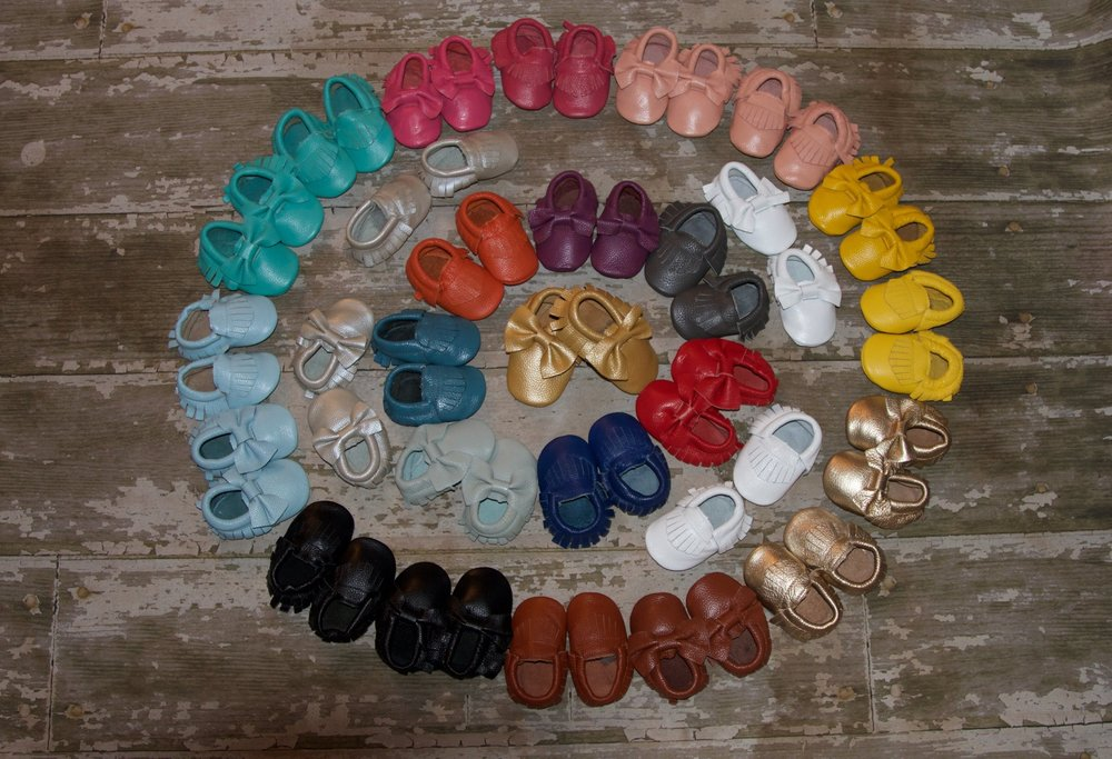 Solid Color Moccasins