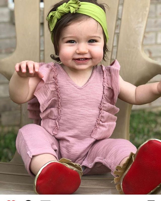 How cute is this one with our moccasins on.  Www.chachacoutures.com• Www.chachacoutures.etsy.com• • • #model #photoshop #photoshoot #photography #babyfashion #fashion #fashionable #fashionkids #fashionblogger #styleblogger #bloggerstyle #childrensboutique #babyfashion #chachacoutures #thatsdarling #luxuryfashion #luxury #love