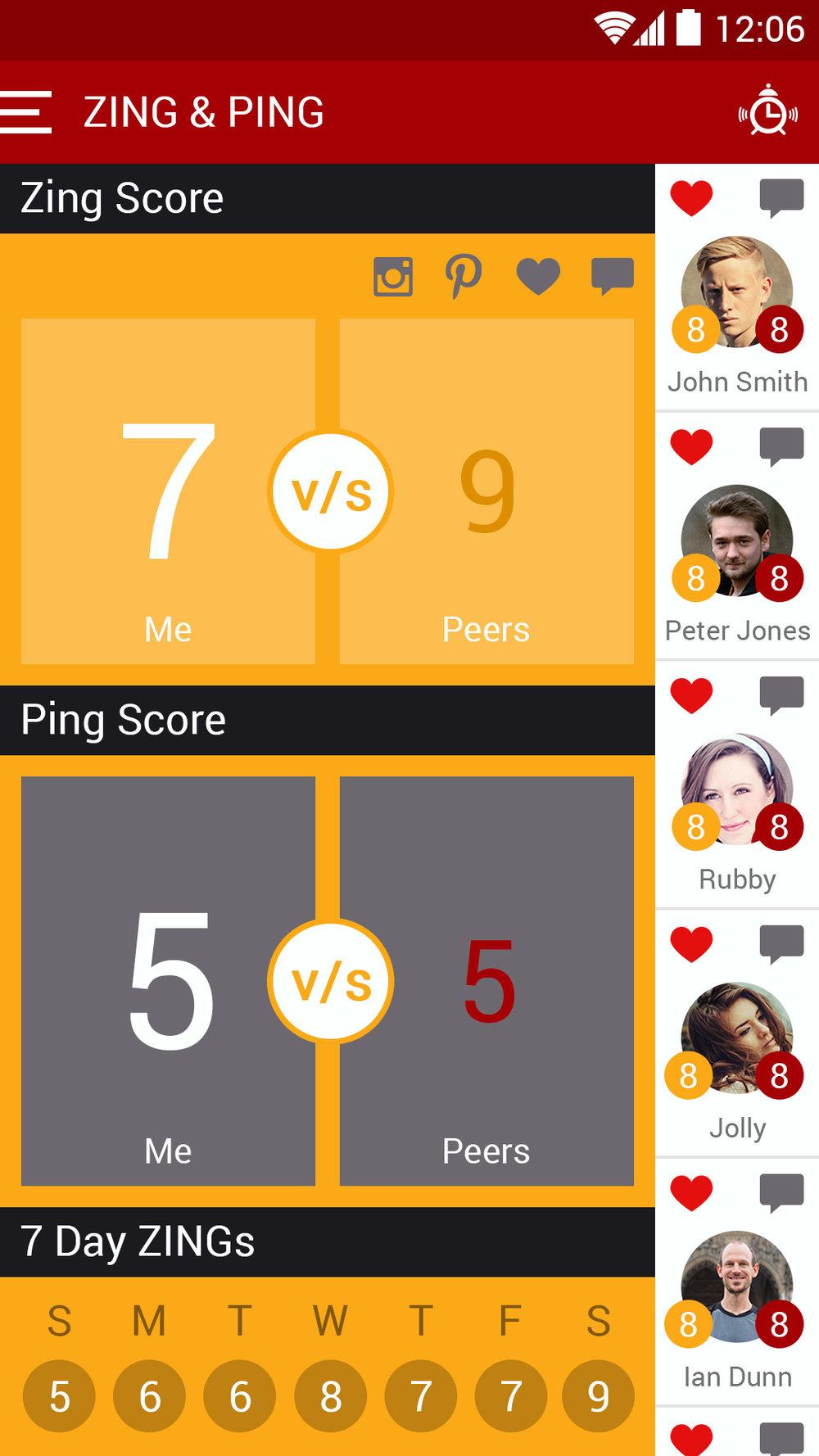 Figure 4. ZING score
