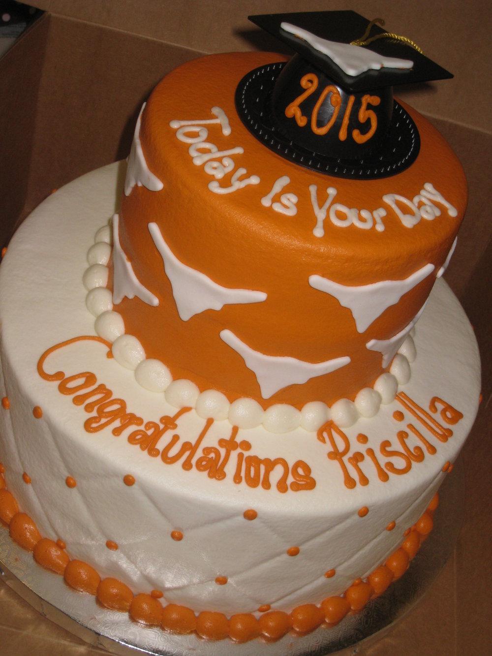 Graduation and Seasonal Cakes