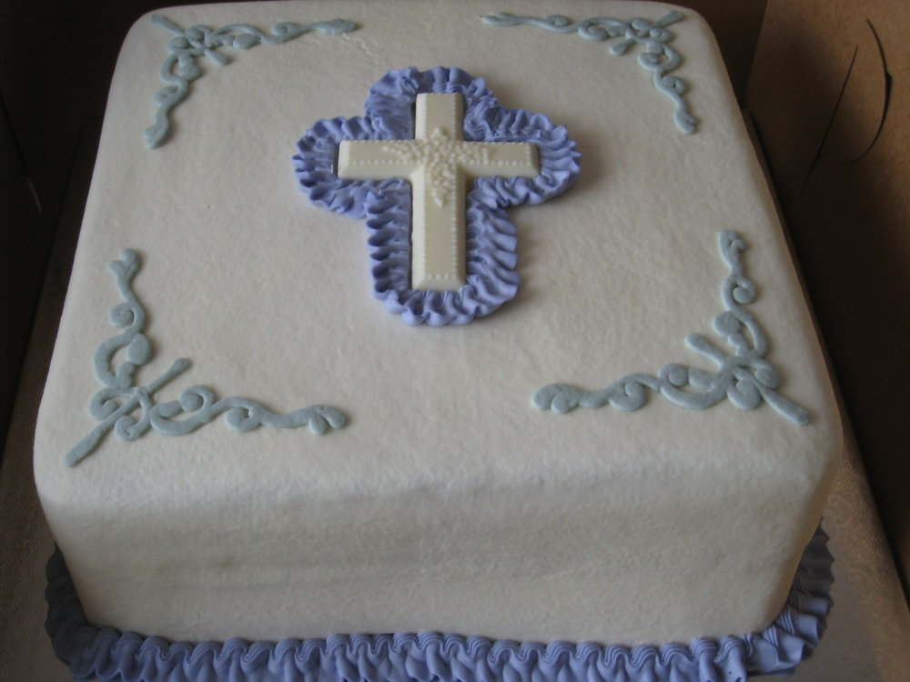Holy Communion and Baptism Cakes