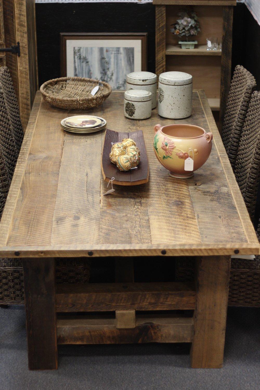 Barnwood Table $1995