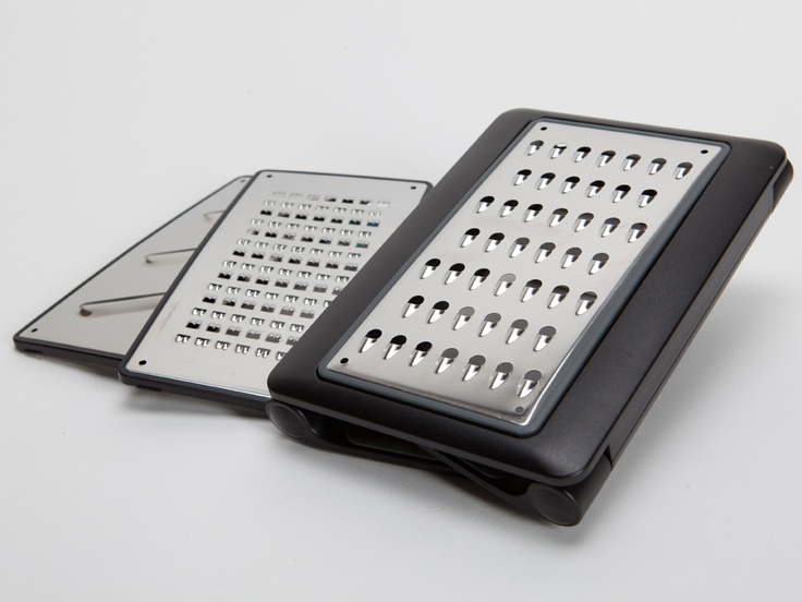 A variety of grating and slicing options pop-in or out to fit your task.