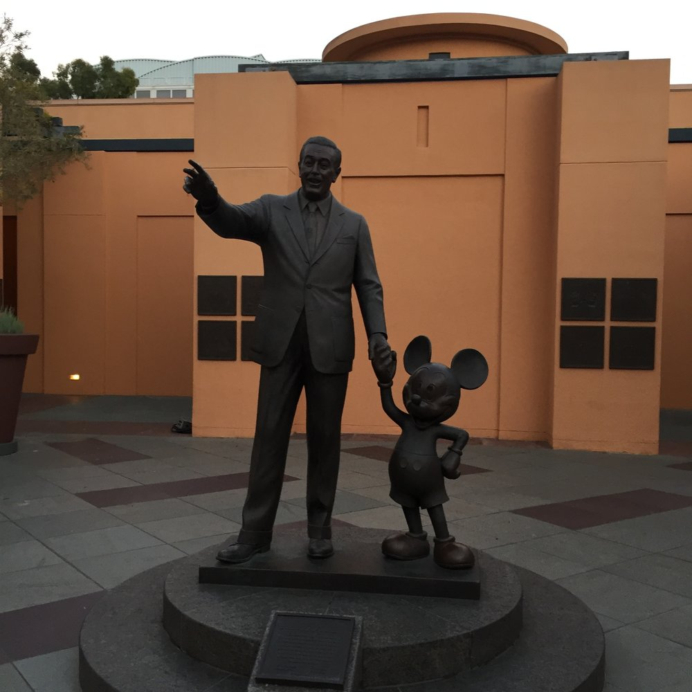 Bye Walt! Funnily enough it's his birthday today! I had an amazing trip, and hopefully it won't be my last time here!