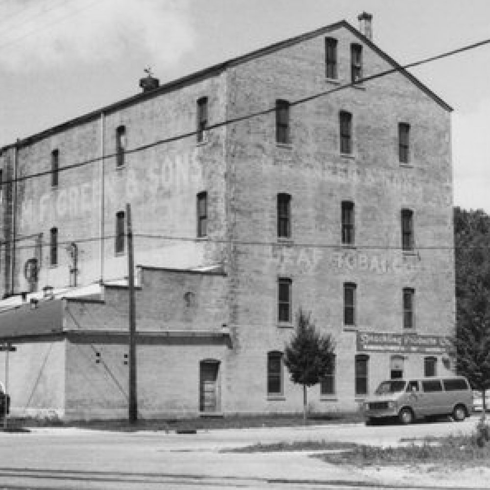 BUSINESS AWARD WINNER 2017   Greene Bros. Leaf Tabacco (1901)   207 N Academy St. | Janesville, WI   WTHP project info    Wisconsin Historical Society Record