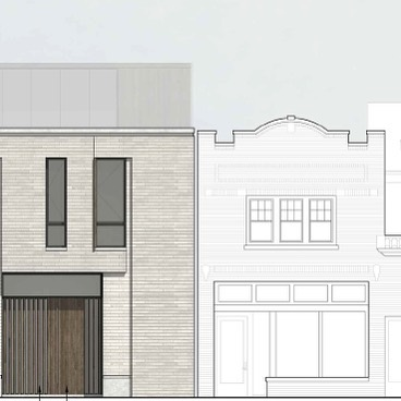 Dramatic Design Debate...(link in bio) . . New building proposal for Milwaukee's Historic Brady Street District...Lots of controversy. What do you all think?! Too many comments from Historic Preservation Commission? Is the newly approved project appropriate?!