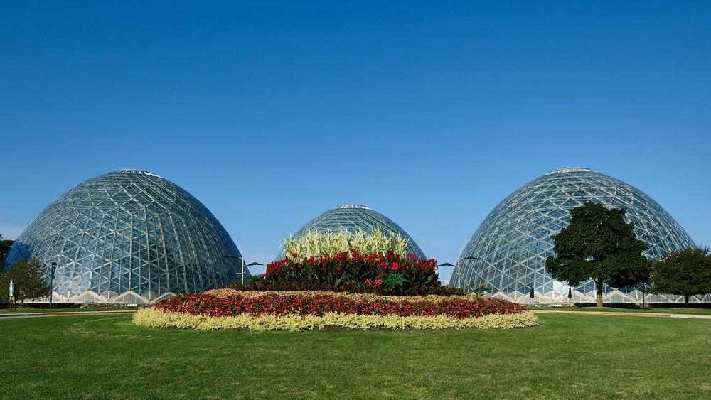 Milwaukee's Mitchell Park Domes