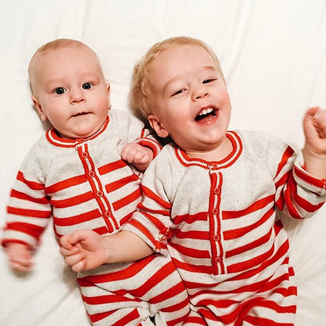 I never thought I'd be one to have my boys matching, but after seeing them together in their Christmas pjs I might be changing my mind. 😍 What a joy it was to celebrate as a family of 4 this year! I hope you all had a Merry Christmas!