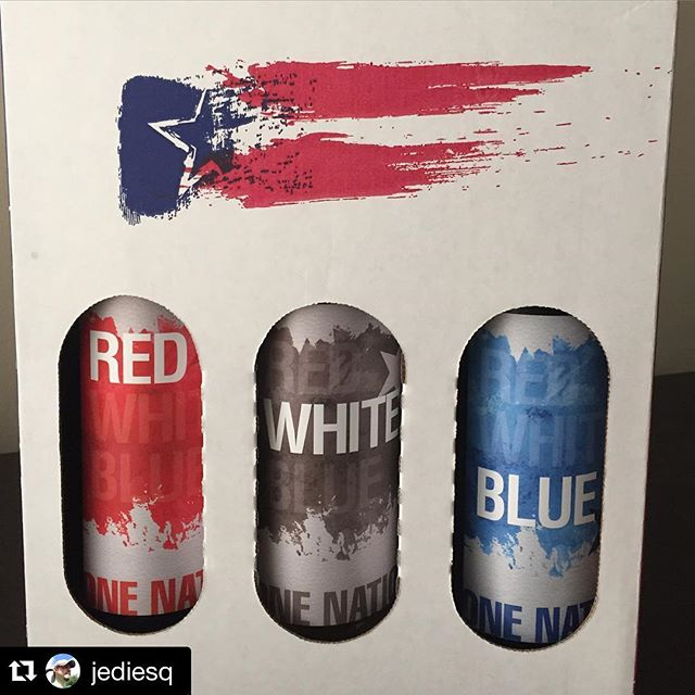 @jediesq was celebrating Memorial Day with our Red, White, and Blue pack. Thanks for sharing!