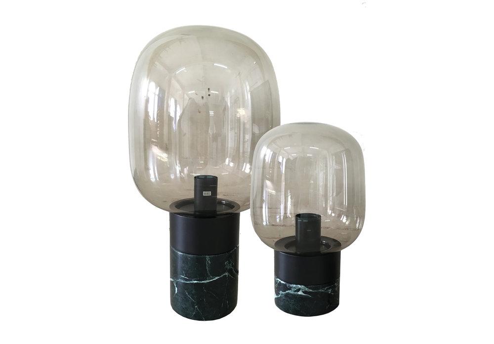 MARBLE MUSHROOM LAMP