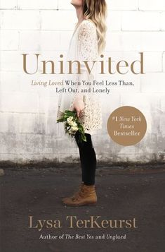 "Uninvited: Living Loved When You Feel Less Than, Left Out, and Lonely"" by Lysa TerKeurst Lysa TerKeurst digs deep into God's Word to help us explore the root causes of rejection and how our relationships are tainted by past rejection. Come and learn the truth about what it looks like to live loved.    Wednesday Evening (6:30-8:30 PM) Facilitated by Sue Castlen Cost of book is $15"