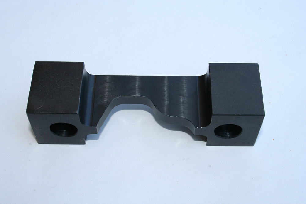 CNC Milled Part - Material: 1018 Steel, Finish: Black Oxide