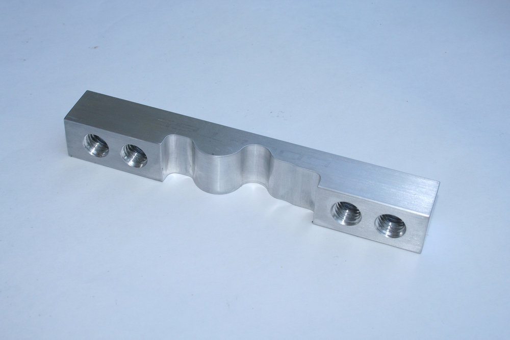CNC Milled Part - Material: 6061 Aluminum