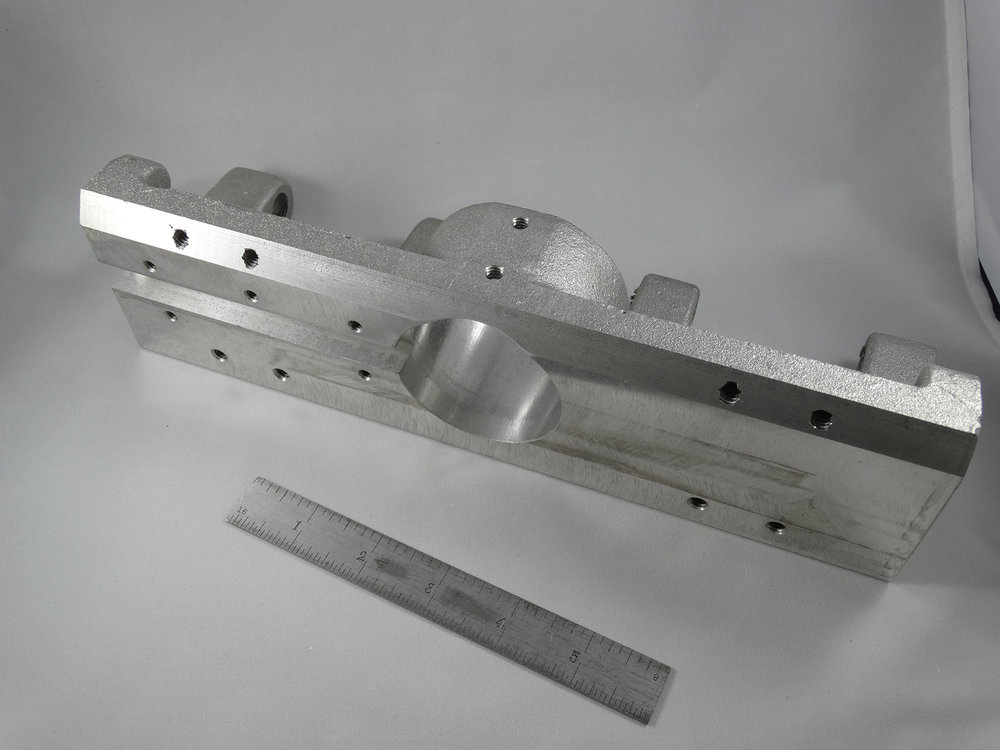 CNC Milled Part - Aluminum Casting - Machined