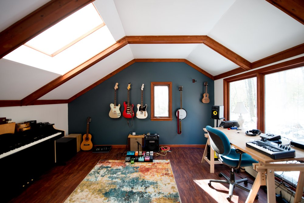 chris studio progress tour before and after