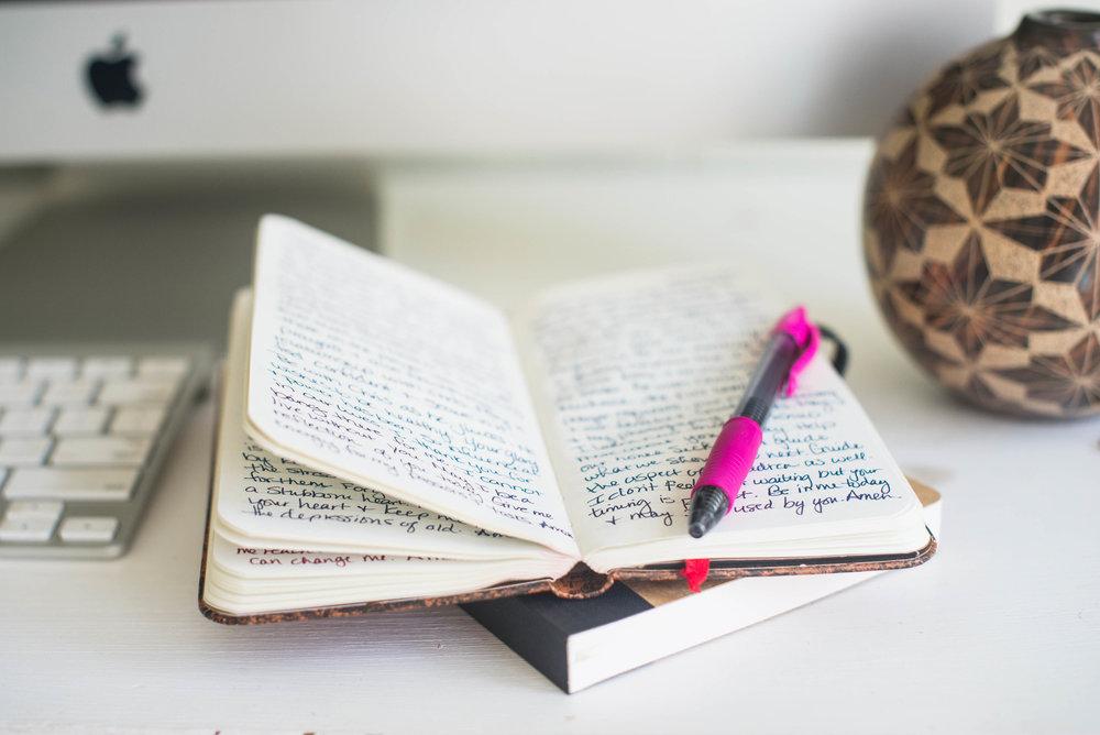 prayer journal progress