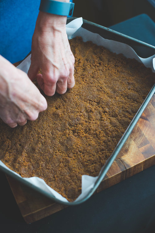 pumpkin toffee bars