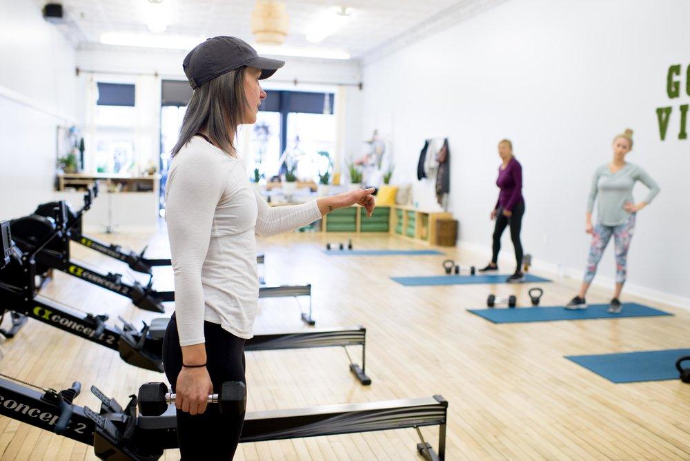 upstate row personal fitness studio port jervis ny