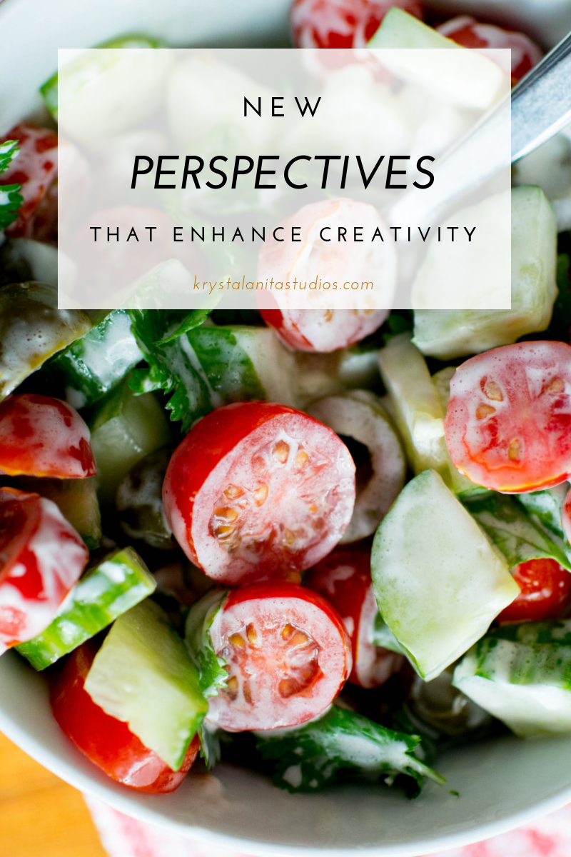new perspectives that enhance creativity