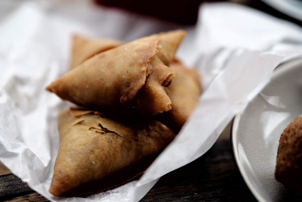 Samosas from Sultan of Samosas