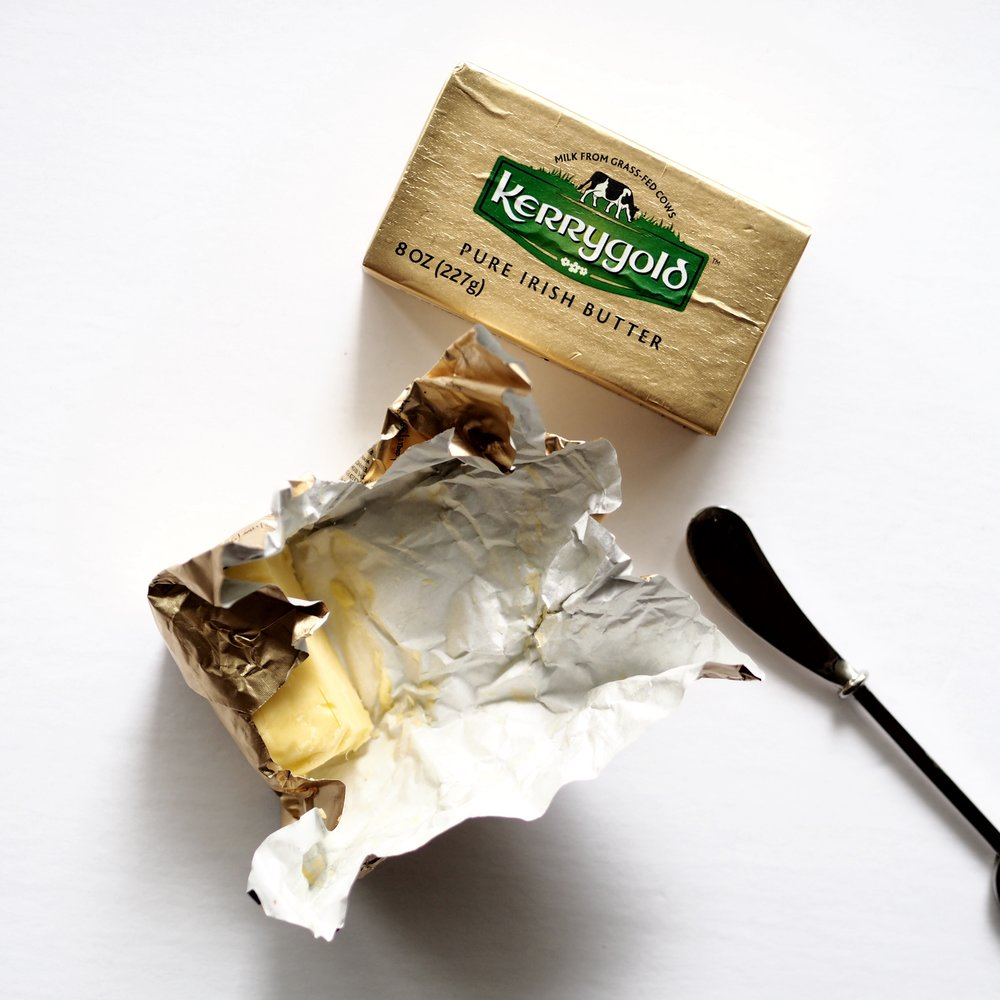 Butter from  Kerrygold  (imported from the U.S.)