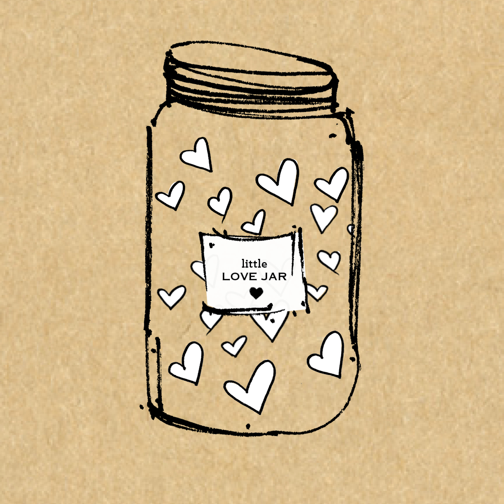 STEP THREE  COLLECT LOVE    Relax as we collect, print, cut, and fold each note; fill your jar to the brim; package it beautifully; and express ship it.